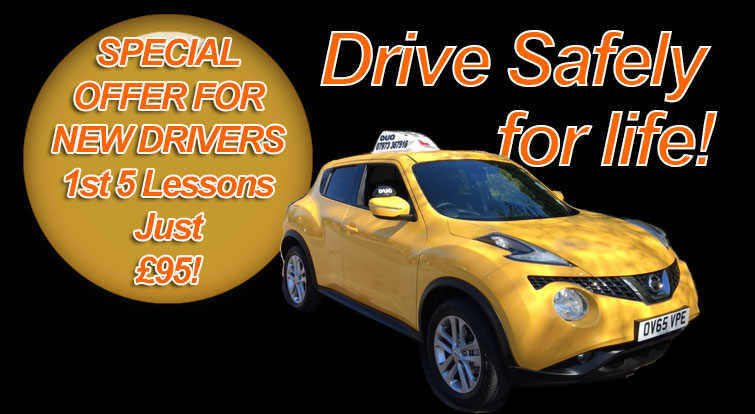 get driving lessons Dudley with DUO Driving School