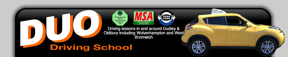 High quality driving lessons in and around Dudley & Oldbury
